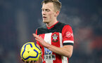 SOUTHAMPTON, ENGLAND - DECEMBER 4: James Ward-Prowse during the Premier League match between Southampton FC and with Norwich City FC at St Mary's Stadium on December 4, 2019 in Southampton, United Kingdom. (Photo by Chris Moorhouse/Southampton FC via Getty Images)