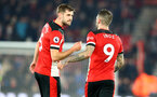 SOUTHAMPTON, ENGLAND - DECEMBER 04: Jack Stephens(L) and Danny Ings of Southampton during the Premier League match between Southampton FC and Norwich City at St Mary's Stadium on December 04, 2019 in Southampton, United Kingdom. (Photo by Matt Watson/Southampton FC via Getty Images)