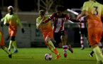SOUTHAMPTON, ENGLAND - DECEMBER 06: Caleb Watts during the Premier League 2 match between Southampton FC U23 and Man City U23 at Snows Stadium, AFC Totton on December 06, 2019 in Southampton, United Kingdom. (Photo by Isabelle Field/Southampton FC via Getty Images)
