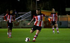 SOUTHAMPTON, ENGLAND - DECEMBER 06: Callum Slattery free kick during the Premier League 2 match between Southampton FC U23 and Man City U23 at Snows Stadium, AFC Totton on December 06, 2019 in Southampton, United Kingdom. (Photo by Isabelle Field/Southampton FC via Getty Images)