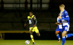 LOUGHBOUROUGH, ENGLAND - DECEMBER 11:  Kgaogelo Chauke during FA Youth Cup between Bristol Rovers and SouthamptonU18s at Memorial Stadium on December 11 2019 in Bristol, England (Photo by Isabelle Field/Southampton FC via Getty Images)