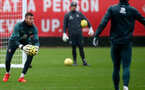 SOUTHAMPTON, ENGLAND - DECEMBER 09: Angus Gunn during a Southampton FC training session on December 12, 2019 in Southampton, England. (Photo by Matt Watson/Southampton FC via Getty Images)