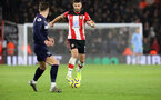 SOUTHAMPTON, ENGLAND - DECEMBER 14: Shane Long during the Premier League match between Southampton FC and West Ham United at St Mary's Stadium on December 14, 2019 in Southampton, United Kingdom. (Photo by Chris Moorhouse/Southampton FC via Getty Images)