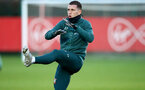 SOUTHAMPTON, ENGLAND - DECEMBER 25: Pierre-Emile Hojbjerg during a Christmas day training session at the Staplewood Campus on December 25, 2019 in Southampton, England. (Photo by Matt Watson/Southampton FC via Getty Images)