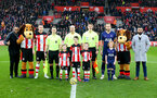 SOUTHAMPTON, ENGLAND - JANUARY 01: Centre circle photo during the Premier League match between Southampton FC and Tottenham Hotspur at St Mary's Stadium on January 01, 2020 in Southampton, United Kingdom. (Photo by Matt Watson/Southampton FC via Getty Images)