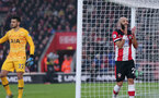 SOUTHAMPTON, ENGLAND - JANUARY 01: Nathan Redmond during the Premier League match between Southampton FC and Tottenham Hotspur at St Mary's Stadium on January 1, 2020 in Southampton, United Kingdom. (Photo by Chris Moorhouse/Southampton FC via Getty Images)