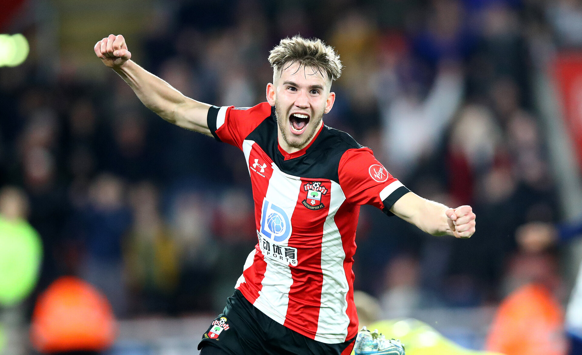 SOUTHAMPTON, ENGLAND - JANUARY 04:  during the FA Cup Third Round match between Southampton FC and Huddersfield Town at St. Mary's Stadium on January 04, 2020 in Southampton, England. (Photo by Matt Watson/Getty Images)