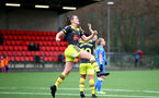 SOUTHAMPTON, ENGLAND - JANUARY 05: Ella Pusey goal celebration during Woman's FA Cup third round match between Cardiff City Ladies and Southampton Women's FC at CCB, Centre for Sporting Excellence Stadium on January 5, 2020 in Cardiff, United Kingdom. (Photo by Isabelle Field/Southampton FC via Getty Images)