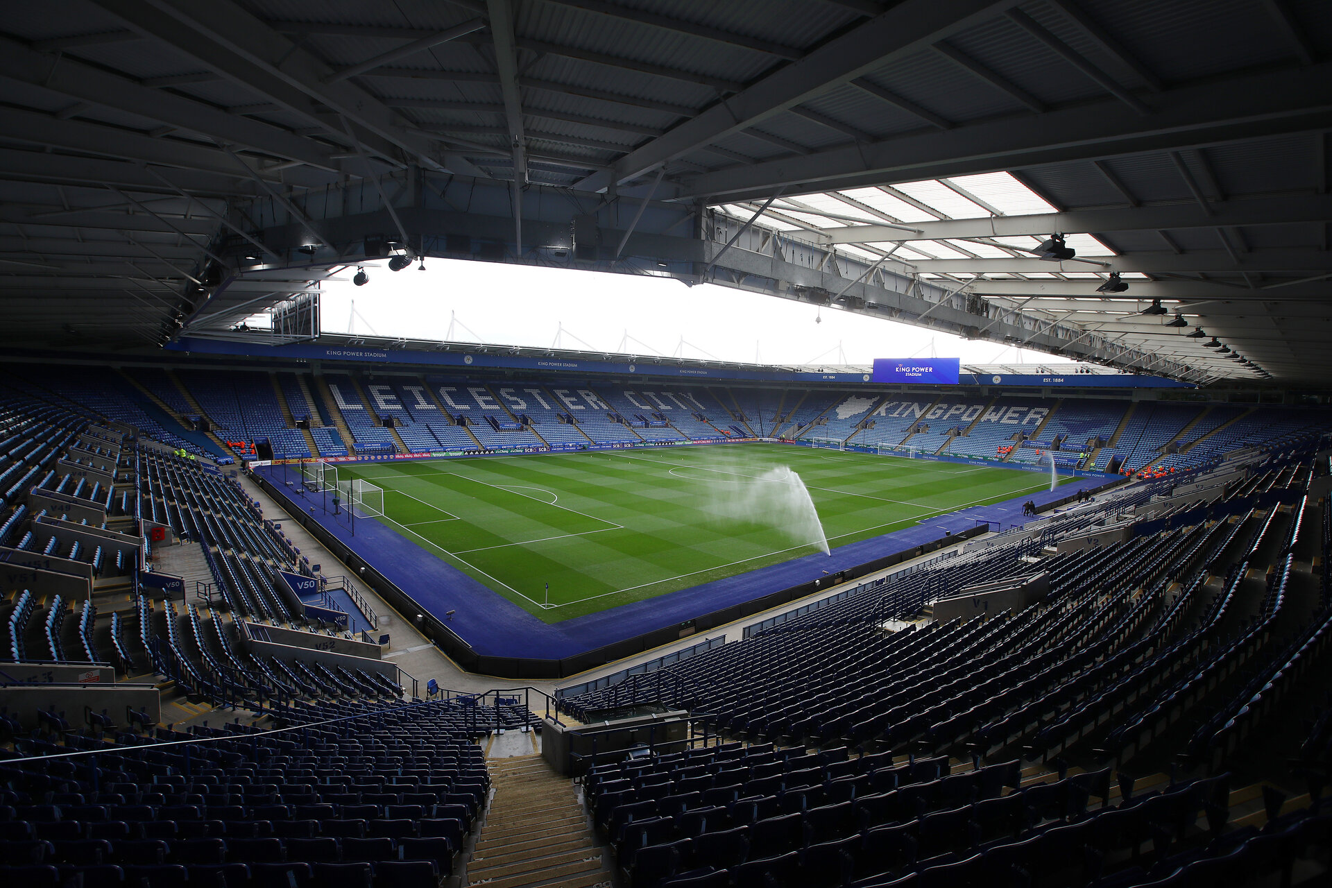 LEICESTER, ENGLAND - JANUARY 11: A general view ahead of the Premier League match between Leicester City and Southampton FC at The King Power Stadium on January 11, 2020 in Leicester, United Kingdom. (Photo by Matt Watson/Southampton FC via Getty Images)