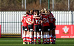 SOUTHAMPTON, ENGLAND - JANUARY 12:  during the SRWFL at Snow's Stadium between Southampton Women and Chesham on January 12 2020, Totton, England. (Photo by Isabelle Field/Southampton FC via Getty Images)