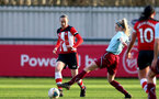 SOUTHAMPTON, ENGLAND - JANUARY 12: Natasha Angel during the SRWFL at Snow's Stadium between Southampton Women and Chesham on January 12 2020, Totton, England. (Photo by Isabelle Field/Southampton FC via Getty Images)