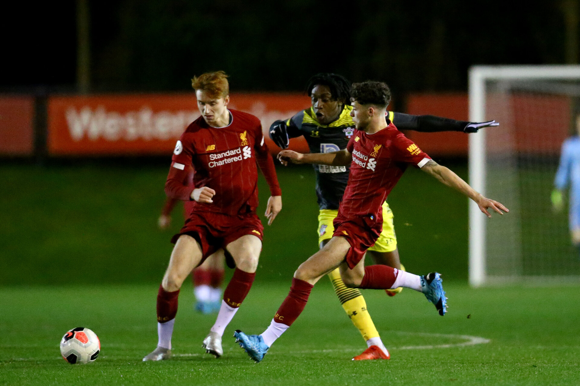 LIVERPOOL, ENGLAND - JANUARY 13: of Southampton during PL2 match between Liverpool and Southampton at Liverpool Academy on January 13 2020 in Liverpool England (Photo by Isabelle Field/Southampton FC via Getty Images)