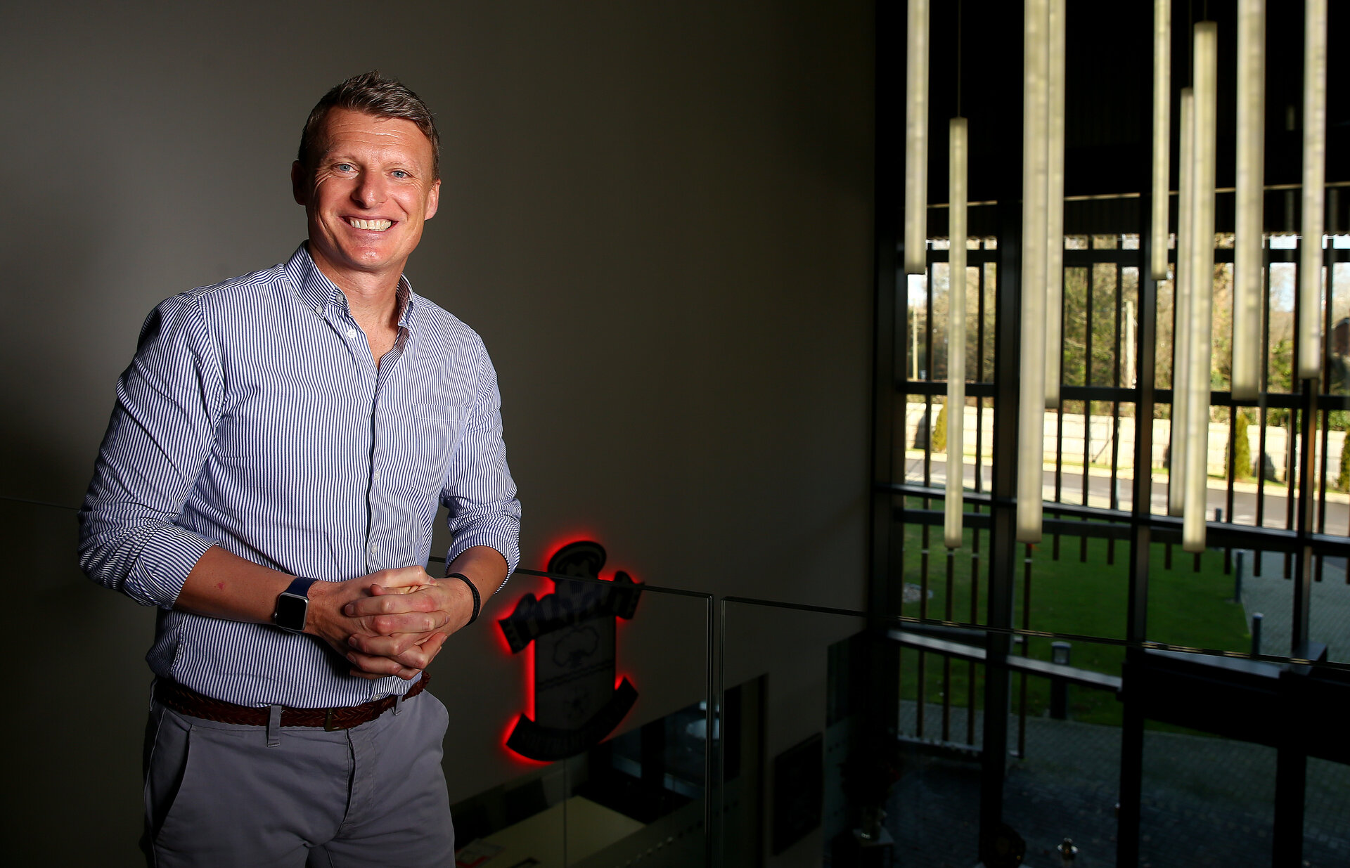 SOUTHAMPTON, ENGLAND - JANUARY 24: Southampton FC Director of Football Operations Matt Crocker, pictured at the Staplewood Campus on January 24, 2020 in Southampton, England. (Photo by Matt Watson/Southampton FC via Getty Images)