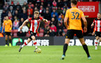 SOUTHAMPTON, ENGLAND - JANUARY 18: Stuart Armstrong of Southampton during the Premier League match between Southampton FC and Wolverhampton Wanderers at St Mary's Stadium on January 18, 2020 in Southampton, United Kingdom. (Photo by Matt Watson/Southampton FC via Getty Images)