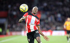 SOUTHAMPTON, ENGLAND - JANUARY 18: Moussa Djenepo during the Premier League match between Southampton FC and Wolverhampton Wanderers at St Marys Stadium on January 18, 2020 in Southampton, United Kingdom. (Photo by Chris Moorhouse/Southampton FC via Getty Images)