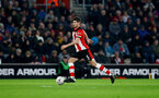 SOUTHAMPTON, ENGLAND - JANUARY 25: Jack Stephens of Southampton during the FA Cup Fourth Round match between Southampton FC and Tottenham Hotspur at St. Mary's Stadium on January 25, 2020 in Southampton, England. (Photo by Matt Watson/Southampton FC via Getty Images)