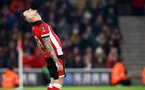 SOUTHAMPTON, ENGLAND - JANUARY 25: Danny Ings of Southampton dejected during the FA Cup Fourth Round match between Southampton FC and Tottenham Hotspur at St. Mary's Stadium on January 25, 2020 in Southampton, England. (Photo by Matt Watson/Southampton FC via Getty Images)