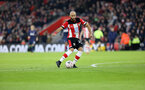 SOUTHAMPTON, ENGLAND - JANUARY 25: Nathan Redmond during the FA Cup Fourth Round match between Southampton FC and Tottenham Hotspur at St. Mary's Stadium on January 25, 2020 in Southampton, England. (Photo by Chris Moorhouse/Southampton FC via Getty Images)
