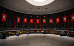 SOUTHAMPTON, ENGLAND - JANUARY 26: A general view of the Southampton changing room prior to the Women's FA Cup Fourth Round match between Southampton Womens FC and Coventry United Ladies at St Mary's Stadium on January 26, 2020 in Southampton, England