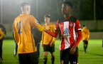 SOUTHAMPTON, ENGLAND - FEBRUARY 03: Kgaogelo Chauke during the Premier League 2 match between Southampton FC and Wolverhampton Wonderers at Staplewood Training Ground on February 03, 2020 in Southampton, England. (Photo by Isabelle Field/Southampton FC via Getty Images)