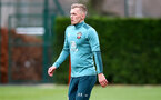SOUTHAMPTON, ENGLAND - FEBRUARY 04: James Ward-Prowse during a Southampton FC training session at the Staplewood Campus on February 04, 2020 in Southampton, England. (Photo by Matt Watson/Southampton FC via Getty Images)