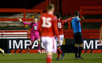 NOTTINGHAM, ENGLAND - FEBRUARY 07: Jack Bycroft during the Premier League Cup between Nottingham Forest and Southampton U23 at Impact Arena Stadium on February 07, 2020 in Nottingham, England. (Photo by Isabelle Field/Southampton FC via Getty Images)