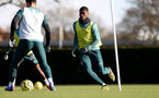 SOUTHAMPTON, ENGLAND - FEBRUARY 04: Kevin Danso during a Southampton FC training session at the Staplewood Campus on February 04, 2020 in Southampton, England. (Photo by Matt Watson/Southampton FC via Getty Images)