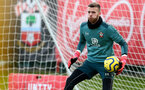 SOUTHAMPTON, ENGLAND - FEBRUARY 11: Angus Gunn during a Southampton FC training session at the Staplewood Campus on February 11, 2020 in Southampton, England. (Photo by Matt Watson/Southampton FC via Getty Images)