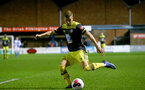 BLACKBURN, ENGLAND - November 27: Kornelious Hansen of Southampton during PL2 match between Blackburn and Southampton at Lancashire County FA on February 14 2020, in Blackburn  (Photo by Isabelle Field/Southampton FC via Getty Images)
