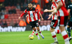 SOUTHAMPTON, ENGLAND - FEBRUARY 15: Sofiane Boufal of Southampton during the Premier League match between Southampton FC and Burnley FC at St Mary's Stadium on February 15, 2020 in Southampton, United Kingdom. (Photo by Matt Watson/Southampton FC via Getty Images)