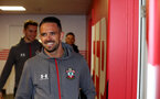 SOUTHAMPTON, ENGLAND - FEBRUARY 22: Danny Ings of Southampton ahead of the Premier League match between Southampton FC and Aston Villa at St Mary's Stadium on February 22, 2020 in Southampton, United Kingdom. (Photo by Matt Watson/Southampton FC via Getty Images)