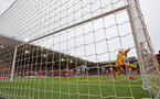 SOUTHAMPTON, ENGLAND - FEBRUARY 22: Goal cam pic during the Premier League match between Southampton FC and Aston Villa at St Mary's Stadium on February 22, 2020 in Southampton, United Kingdom. (Photo by Matt Watson/Southampton FC via Getty Images)