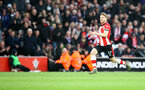 SOUTHAMPTON, ENGLAND - FEBRUARY 22: Stuart Armstrong of Southampton scores to make it 2-0 during the Premier League match between Southampton FC and Aston Villa at St Mary's Stadium on February 22, 2020 in Southampton, United Kingdom. (Photo by Matt Watson/Southampton FC via Getty Images)