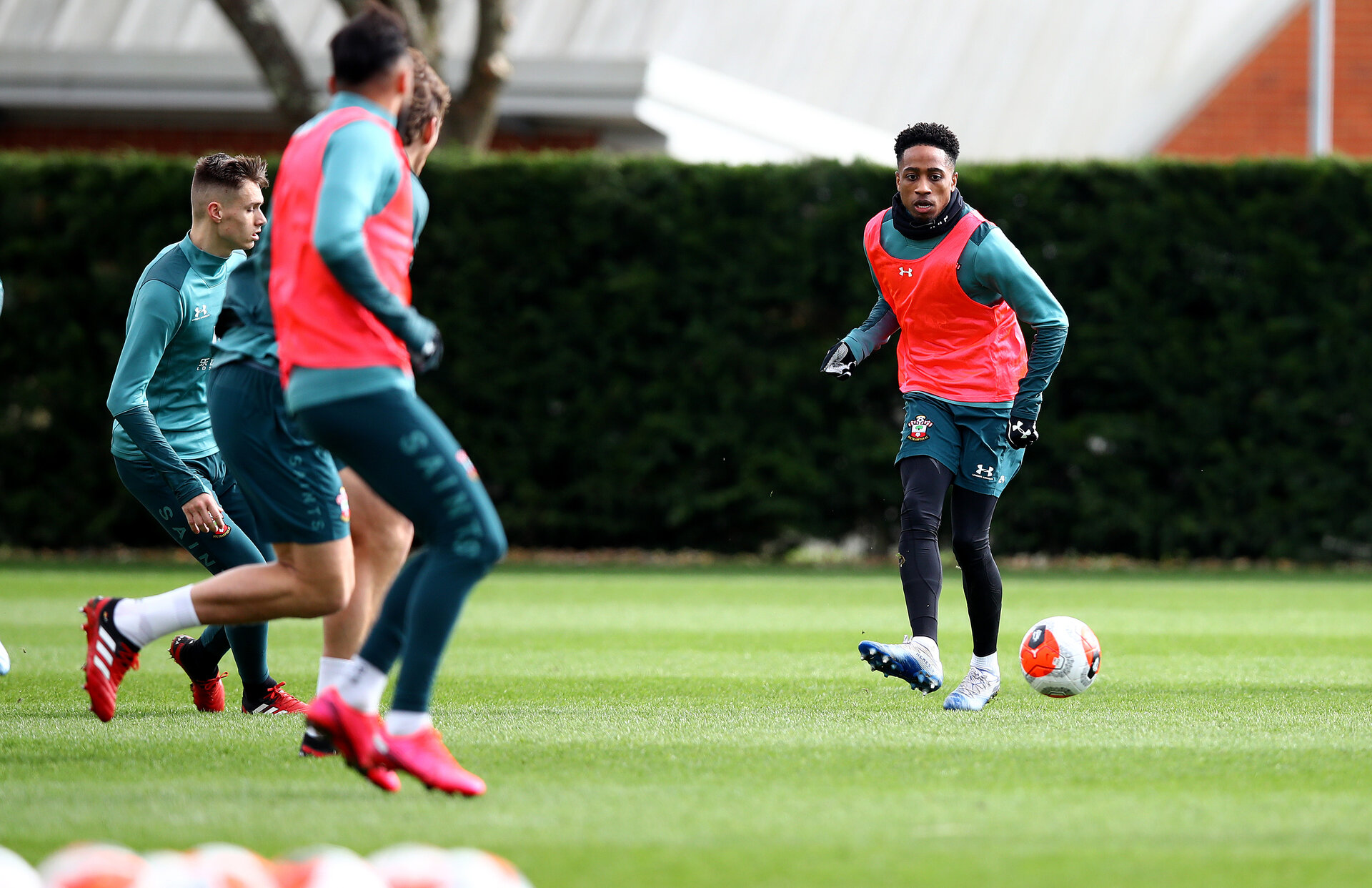 SOUTHAMPTON, ENGLAND - FEBRUARY 25: Kyle Walker-Peters during a Southampton FC training session at the Staplewood Campus on February 25, 2020 in Southampton, England. (Photo by Matt Watson/Southampton FC via Getty Images)