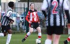 SOUTHAMPTON, ENGLAND - March 1: Natasha Angel of Southampton FC Womens during the FA Women's National League match between Southampton Women and Maidenhead United at Staplewood Campus on March 1 2020, Exeter, England. (Photo by Tom Mulholland/Southampton FC)