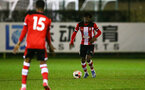 SOUTHAMPTON, ENGLAND - MARCH 02: Alex Janekewitz during PL2 match between Southampton and Leicester City at Staplewood Training Center on March 02 2020 in Southampton England (Photo by Isabelle Field/Southampton FC via Getty Images)