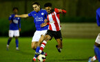 SOUTHAMPTON, ENGLAND - MARCH 02: Jacob Maddox during PL2 match between Southampton and Leicester City at Staplewood Training Center on March 02 2020 in Southampton England (Photo by Isabelle Field/Southampton FC via Getty Images)