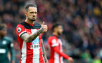 SOUTHAMPTON, ENGLAND - MARCH 07: Danny Ings of Southampton during the Premier League match between Southampton FC and Newcastle United at St Mary's Stadium on March 07, 2020 in Southampton, United Kingdom. (Photo by Matt Watson/Southampton FC via Getty Images)