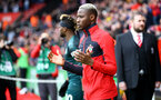 SOUTHAMPTON, ENGLAND - MARCH 07: Moussa Djenepo during the Premier League match between Southampton FC and Newcastle United at St Mary's Stadium on March 7, 2020 in Southampton, United Kingdom. (Photo by Isabelle Field/Southampton FC via Getty Images)