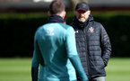 SOUTHAMPTON, ENGLAND - MARCH 11: Ralph Hasenhuttl during a Southampton FC training session at the Staplewood Campus on March 11, 2020 in Southampton, England. (Photo by Matt Watson/Southampton FC via Getty Images)