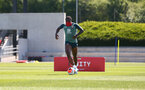 SOUTHAMPTON, ENGLAND - MAY 19: Michael Obafemi as Southampton FC players return to training following Covid-19 restrictions being relaxed, at the Staplewood Campus on May 19, 2020 in Southampton, England. (Photo by Matt Watson/Southampton FC via Getty Images)