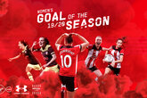 Vote for your Women's Goal of the Season 2019/20