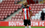 SOUTHAMPTON, ENGLAND - JUNE 12: during a friendly match between Southampton FC and Bristol City, ahead of the Premier League re-start, at St Mary's Stadium on June 12, 2020 in Southampton, England. (Photo by Matt Watson/Southampton FC via Getty Images)