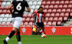 SOUTHAMPTON, ENGLAND - JUNE 12: Ryan Bertrand during a friendly match between Southampton FC and Bristol City, ahead of the Premier League re-start, at St Mary's Stadium on June 12, 2020 in Southampton, England. (Photo by Matt Watson/Southampton FC via Getty Images)