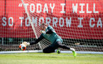 SOUTHAMPTON, ENGLAND - JUNE 16: Harry Lewis during a Southampton FC training session at the Staplewood Campus on June 16, 2020 in Southampton, England. (Photo by Matt Watson/Southampton FC via Getty Images)