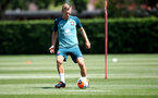 SOUTHAMPTON, ENGLAND - JUNE 16: James Ward-Prowse during a Southampton FC training session at the Staplewood Campus on June 16, 2020 in Southampton, England. (Photo by Matt Watson/Southampton FC via Getty Images)