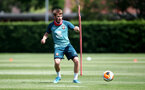 SOUTHAMPTON, ENGLAND - JUNE 16: Jake Vokins during a Southampton FC training session at the Staplewood Campus on June 16, 2020 in Southampton, England. (Photo by Matt Watson/Southampton FC via Getty Images)