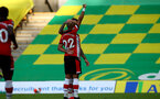 NORWICH, ENGLAND - JUNE 19: Nathan Redmond goal celebration during the Premier League match between Norwich City and Southampton FC at Carrow Road on June 19, 2020 in Norwich, United Kingdom. (Photo by Matt Watson/Southampton FC via Getty Images)