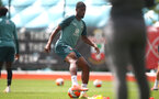SOUTHAMPTON, ENGLAND - JULY 01: Kevin Danso during a Southampton FC training session at the Staplewood Campus on July 01, 2020 in Southampton, England. (Photo by Matt Watson/Southampton FC via Getty Images)