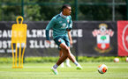 SOUTHAMPTON, ENGLAND - JULY 01: Yan Valery during a Southampton FC training session at the Staplewood Campus on July 01, 2020 in Southampton, England. (Photo by Matt Watson/Southampton FC via Getty Images)